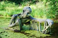 Victoria's Way Sculpture Park in Ireland Honors Indian Enlightenment