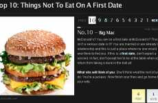 Anti-Romantic Dinner Tips - AskMen.com Compiles List of Date Night Dinners to Avoid