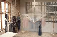Mobile Retail Displays - The Clothes Keep on Moving at the Permanent Vacation Pop-Up Store