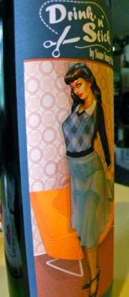 Undressing Woman Wines