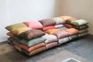 The Comfortable Cushionized Sofa by Christiane Hoegner
