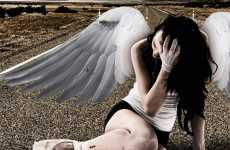 Fallen Angel Photography - Matteo Rosin Captures Hot Heavenly Sadness