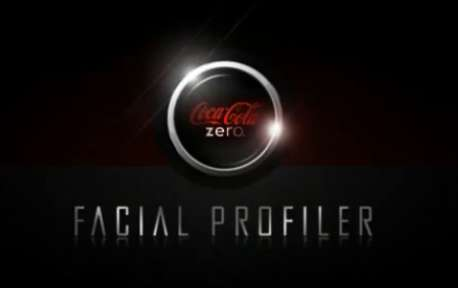 Soft Drink Social Marketing - Coke Zero Facial Profiler Application Finds Your Facebook Twin