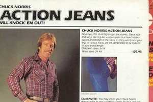 The Chuck Norris Action Jean from the '80s Makes a Comeback