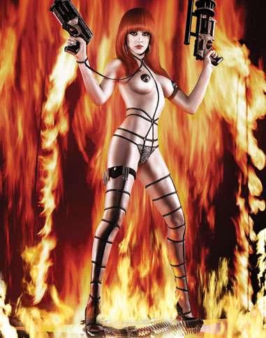 Fiery Vixen Vigilantes - A/W 09 Agent Provocateur Lingerie Superheroes Revealed (UPDATE)