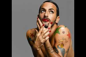 Francois Nars' Book Has Marc Jacobs in Red Lipstick