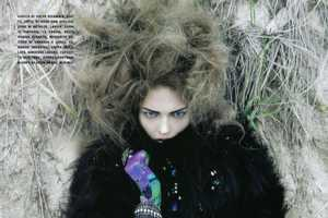 'It's a Matter of Glam' in Vogue Italia for October 2009