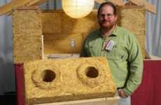 Organic Waste Innovations - 'Stak Block' is as Strong as Brick and Made From Rice Straw