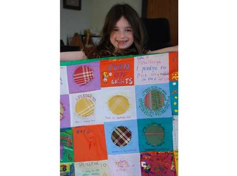 Eco Crusade Quilts - The Climate Quilt Campaign Has Youth Pledging to Save the Planet