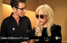 Pop Icon Activism - Appearance by Lady Gaga at the National Equality March Raises Awareness