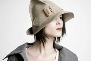 Claudia Schulz Designs Wool-Felt Headwear for Autumn