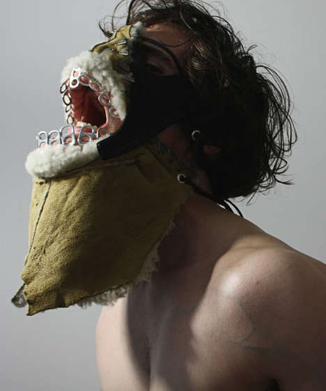 Horrifying Garbage Masks - The Shin Murayama 'Valhalla' Masks Exemplify Creepy Face Wear