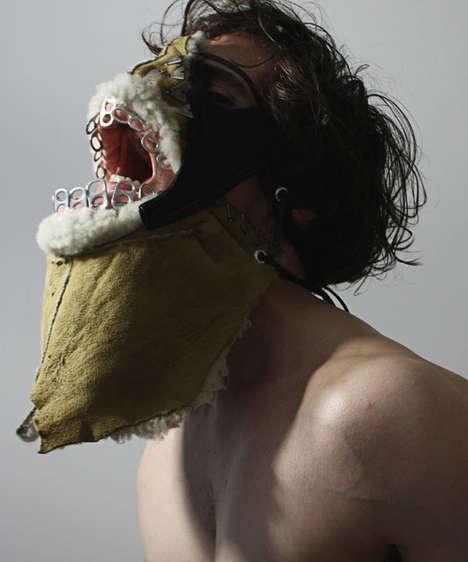 Horrifying Garbage Masks - The Shin Murayama 'Valhalla' Masks Exemplify Creepy Face Wear