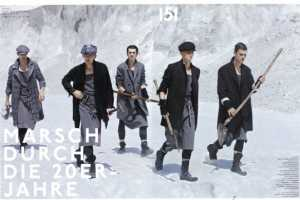 'March Through the 20s' in GQ Style Germany Tells a Bleak Tale