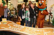 Super-Sized Scooby Snacks - Cow Creates World's Largest Dog Biscuit for Scooby-Doo Stunt