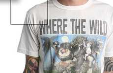 Monster Movie Tees - Junk Food Clothing Makes Stylish 'Where the Wild Things Are' T-Shir