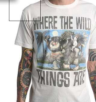 Monster Movie Tees - Junk Food Clothing Makes Stylish 'Where the Wild Things Are