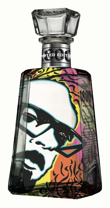 Artistic Alcohol Bottles - 1800 Tequila and Proximo Spirits Inc. Create Alcoholic Art