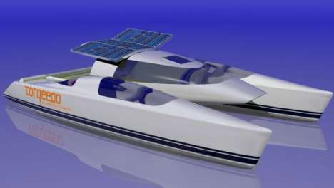 Supersonic Solar Boats