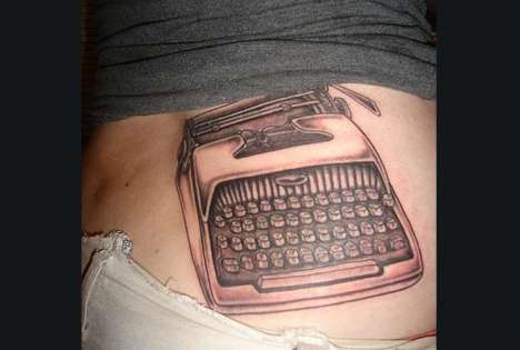 Vintage Gadgettoos - Retro Tech Tattoo Revisitations Inked on Skin