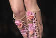 Sky-High Floral Footwear