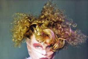 A Red-Eyed, Wild-Maned Charlotte Di Calypso in Vogue Italia