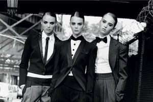 The Multi-Model Editorial, 'New Faces' in French Revue De Modes