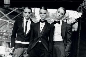 The Multi-Model Editorial, 'New Faces' in French Revue De Modes