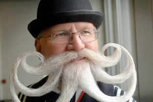 Bizarre Beards and Mustaches Look Like Works of Art