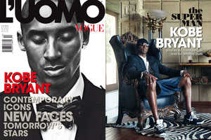 Kobe Bryant Models Expensive Duds for L'Uomo Vogue