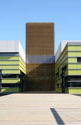 Futuristic Education Facilities - Kristin Jarmund Architects Create a Modern High School