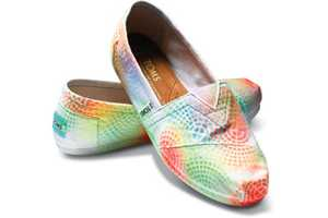 One of a Kind, Hand-Painted, Socially Responsible Footwear from TOMS