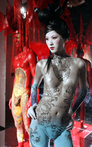 Culture-Specific Body Painting