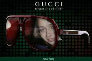 The Gucci Eyeweb Site is Confusing to Say the Least