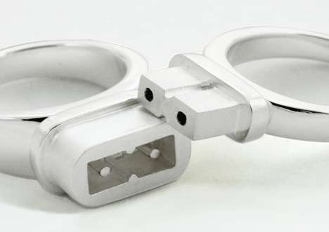 Electric Engagement Rings - Plug and Socket Duo Rings are Most Obvious Metaphor Ever