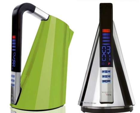 Precision Tea Pots - Bugatti Vera Kettle Makes the Perfect Cup on Demand