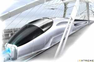 Fabien Vesseron Designs Self-Propelled Train