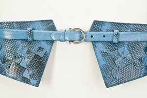 Italian Designer Silvia Favilla & Her Ferragamo Leather Belts