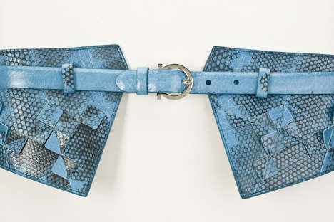 Origami-Inspired Waist-Cinchers