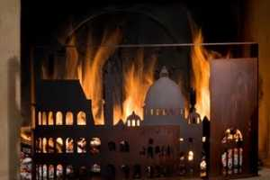 London and Rome Featured in Artistic Firescreens
