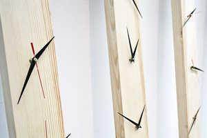 The Piotr Stolarski Log Clock is Designer DIY