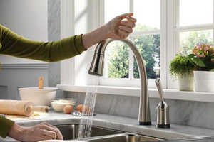 The Delta Pilar Faucet Didn't Get the Hands-Free Memo