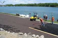 Absorbent Pavement - FilterPave Assists with Rainwater Management and Runoff