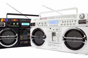 The Boombox iPod Cradle Keeps It Fresh
