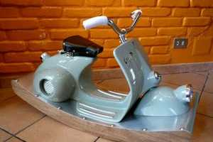 Kids With a Need for Speed Will Love the Vespa Rocking Horse