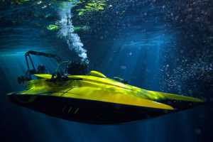 The Scubacraft Transforms From Boat to Underwater Vessel