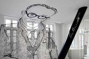 Ministry of Design Incorporates Enormous Company Founder Picture in Remodel