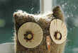 Recycled Paper Owls