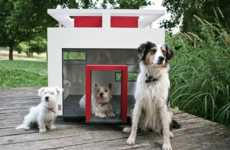 Contemporary Canine Homes - The CUBIX Dog House is Luxury Living for Your Pooch