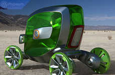 Green Pod Chariots - Volkswagen Pholeum Car is an Eco-Friendly Single-Seater